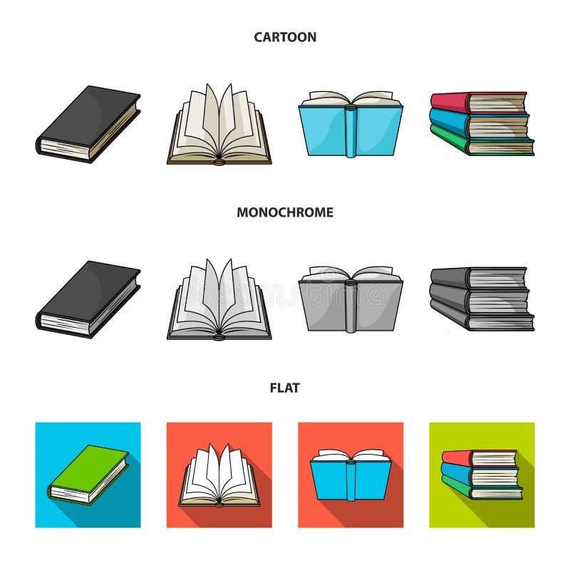 图书馆和课本象的传染媒介例证 设置网的图书馆和学校股票简名 库存例证