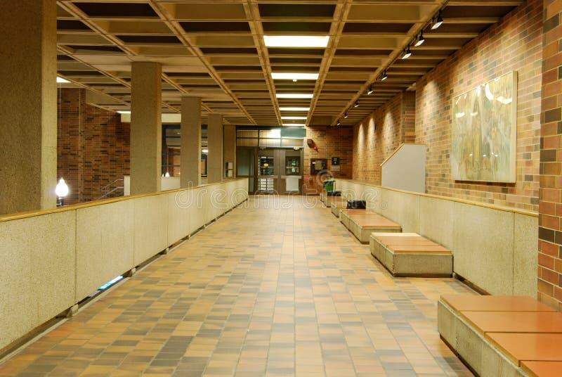 图书馆大厅 库存图片