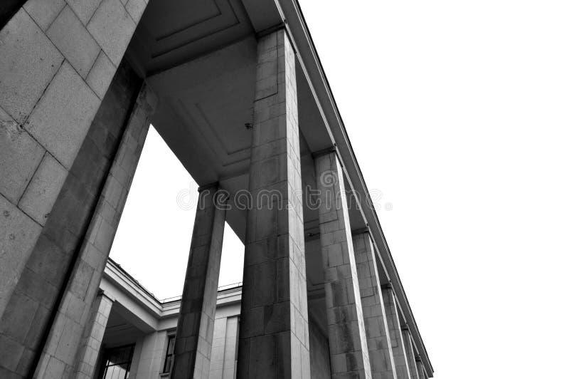 图书馆莫斯科俄国俄语状态 库存照片