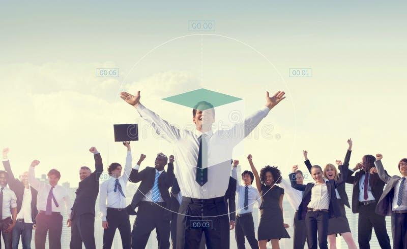 图企业财务报告逻辑分析方法概念 库存图片