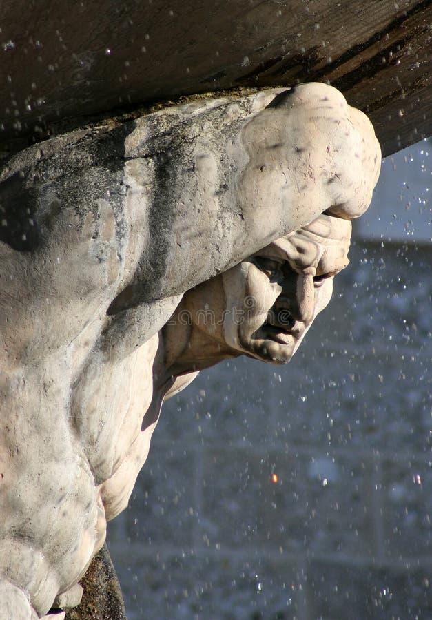 图喷泉 免版税图库摄影