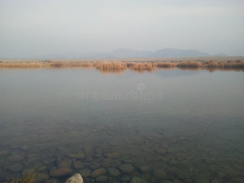 图尔贝拉湖景 免版税库存照片
