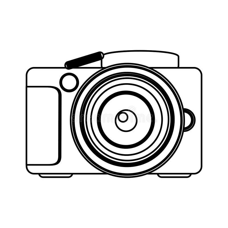 图技术专业照相机象 向量例证