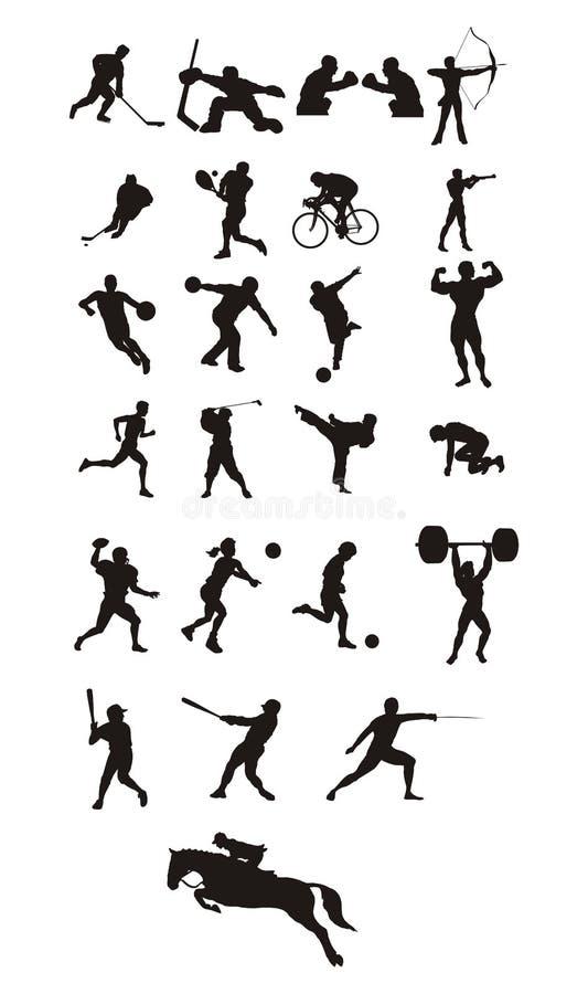 图标体育运动 皇族释放例证