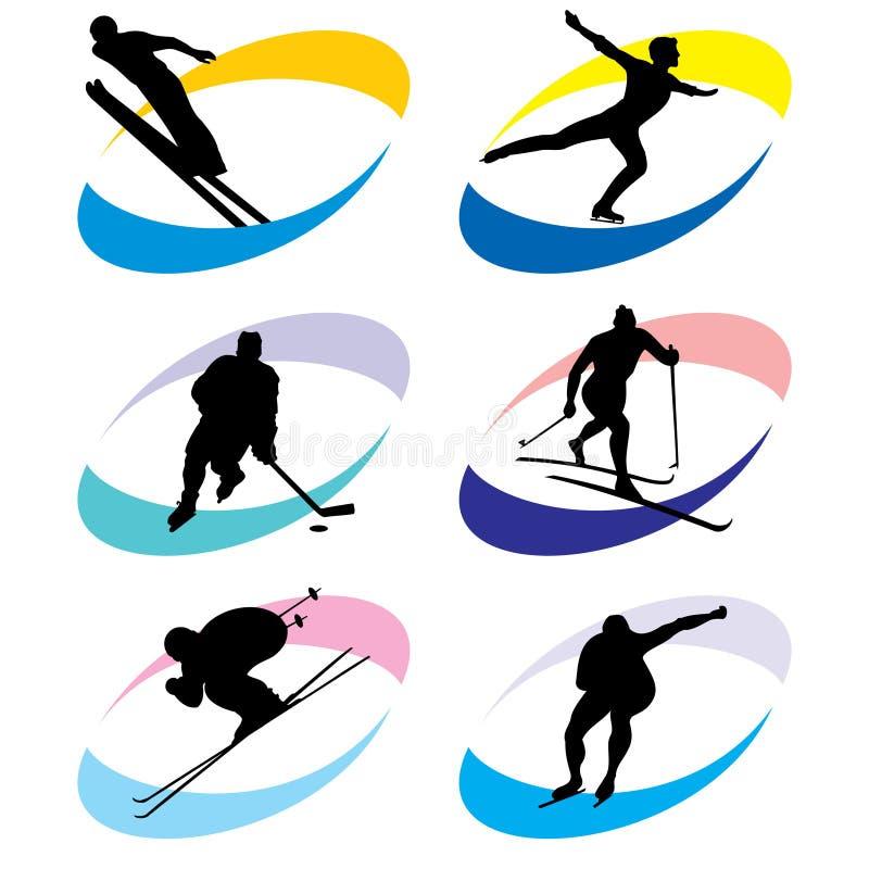 图标体育运动 库存例证