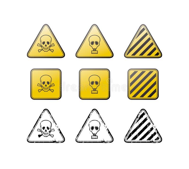 图标印花税含毒物向量 库存例证