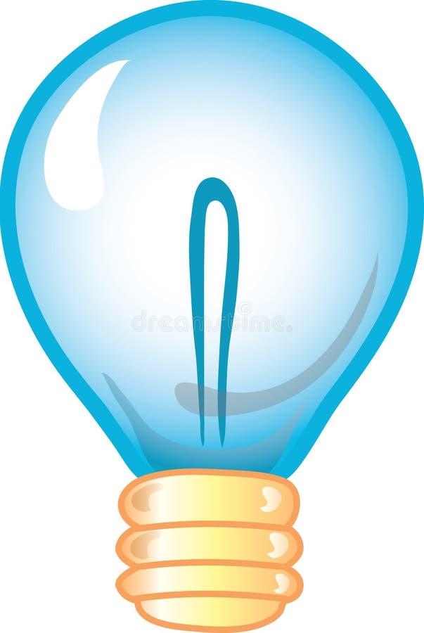 图标电灯泡 皇族释放例证