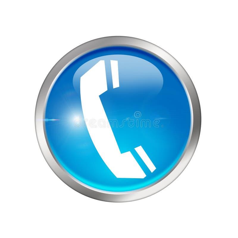 图标电话 向量例证