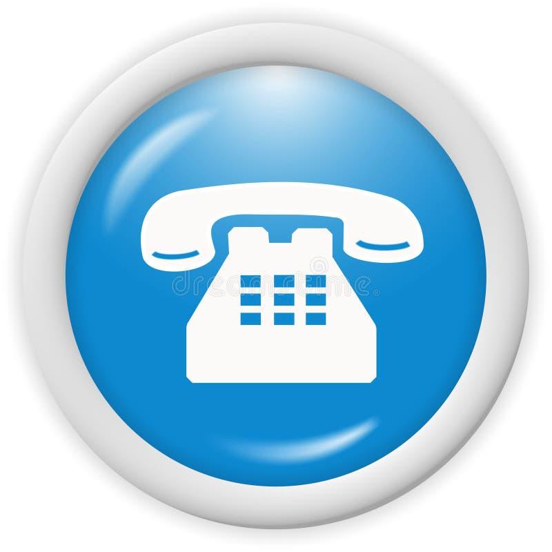 图标电话 皇族释放例证