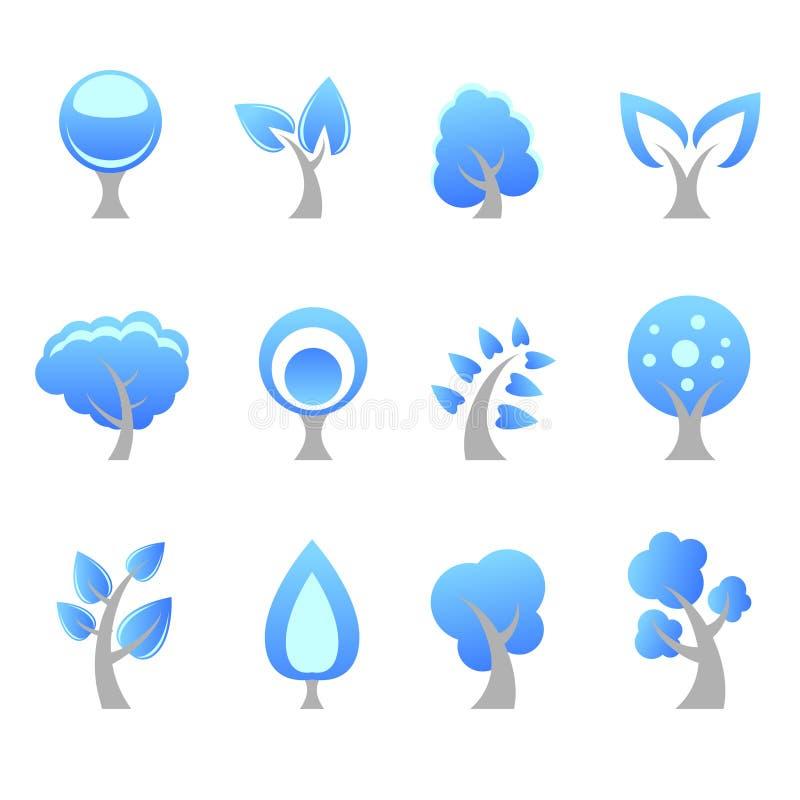 图标结构树 库存例证