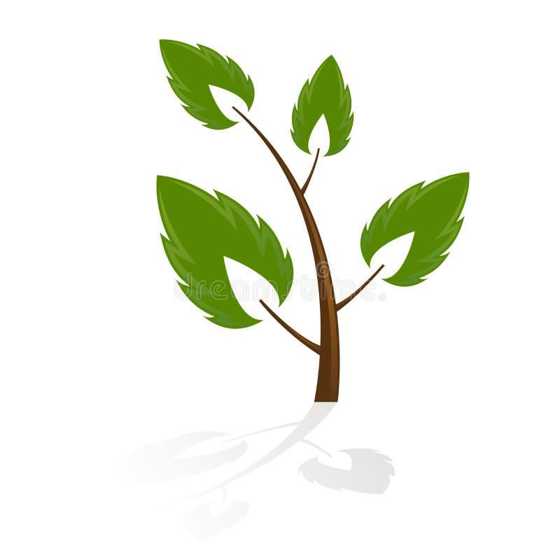 图标结构树 向量例证