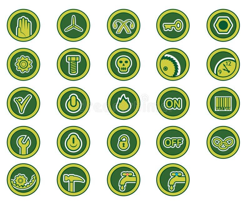 图标行业 免版税库存照片