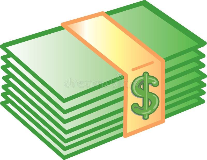 图标货币 库存例证