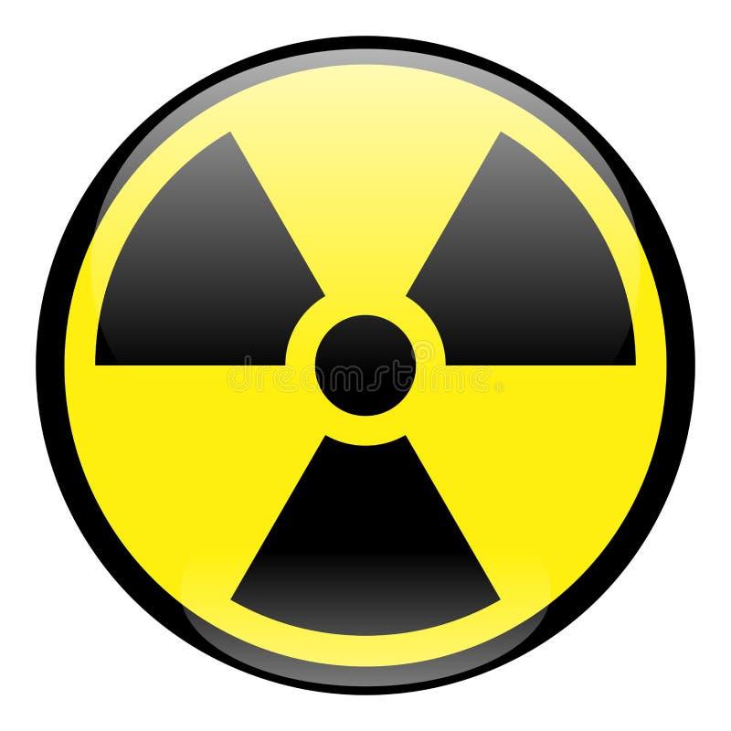 图标辐射来回符号 向量例证