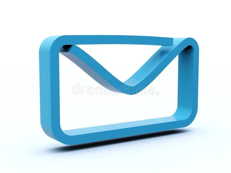图标邮件 皇族释放例证
