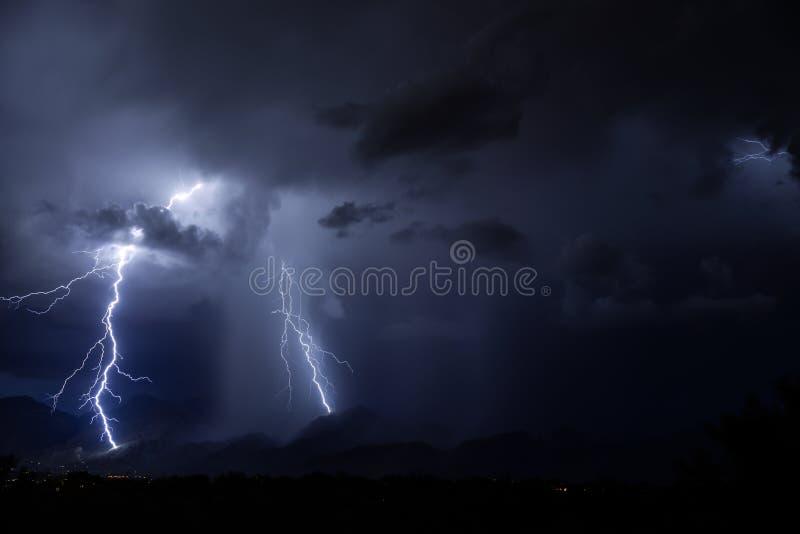 图森闪电 免版税库存照片