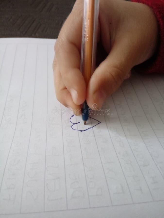 图画女孩例证查出的向量白色 图库摄影