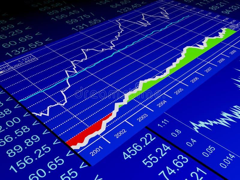 图画销售额股票 向量例证