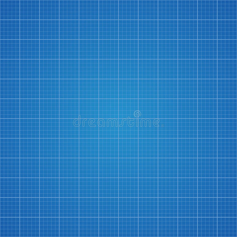 图纸栅格背景 设计的座标图纸在传染媒介 库存例证