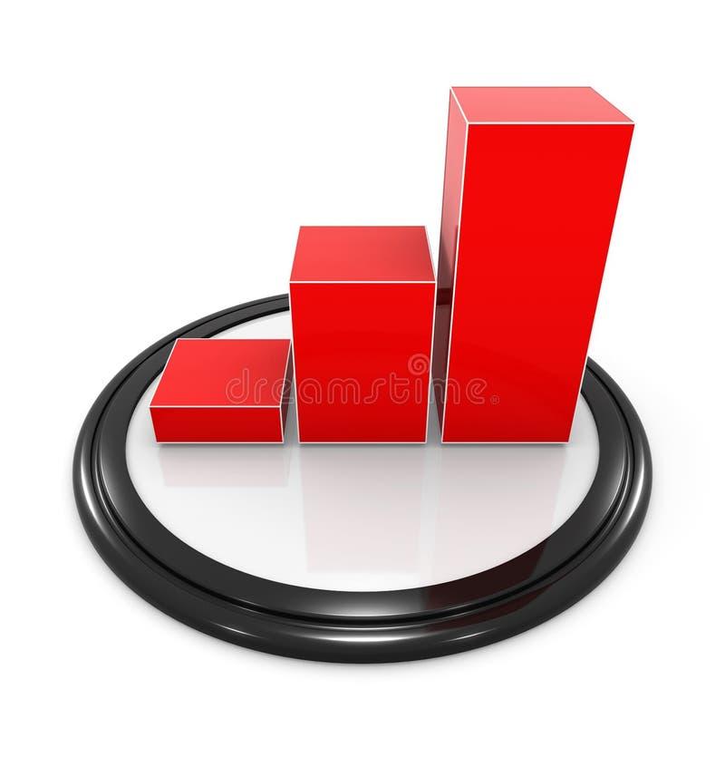 Download 图表图标例证报表向量 库存例证. 插画 包括有 事故, 经济, 股票, 图形, 概念, 进展, 利润, 收益 - 59100815