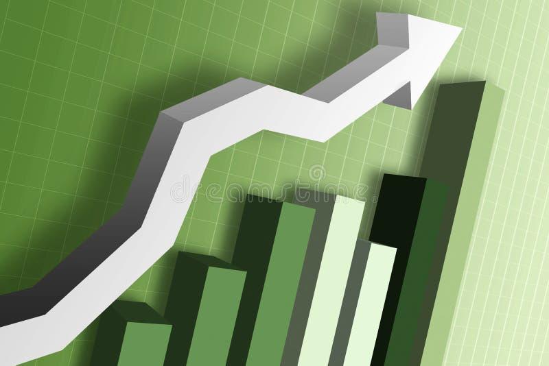 图表市场货币 库存照片