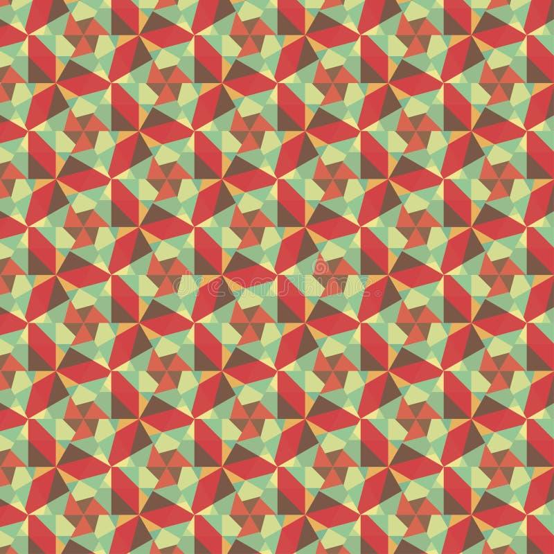 图表无缝的五颜六色的样式。平的样式 皇族释放例证