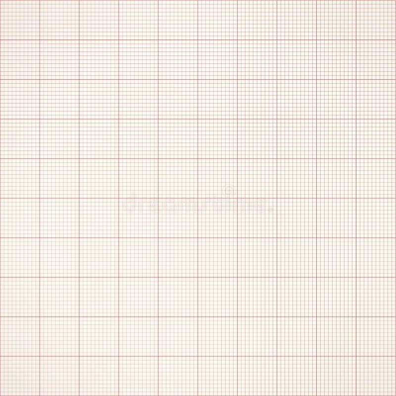 图表无缝的毫米栅格纸 传染媒介工程学背景 皇族释放例证