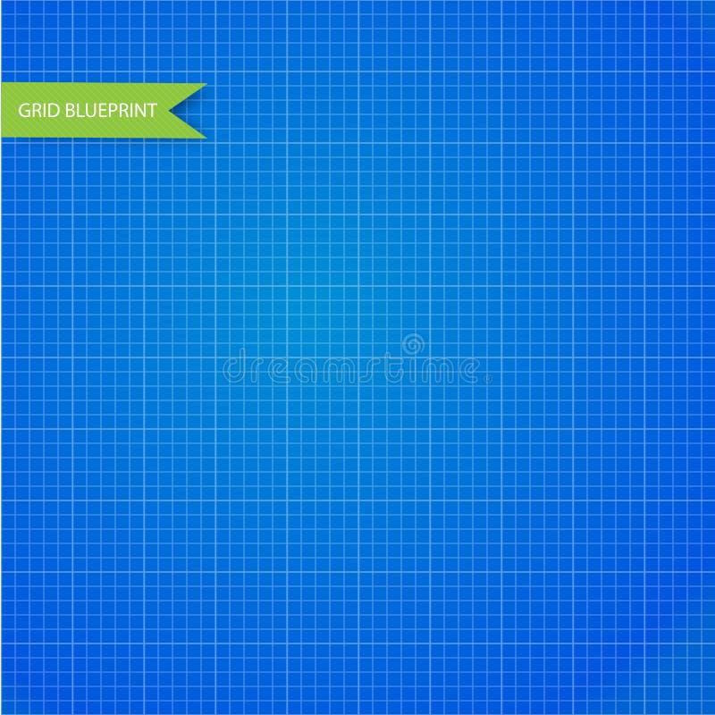 图表,毫米纸图纸 无缝 向量例证