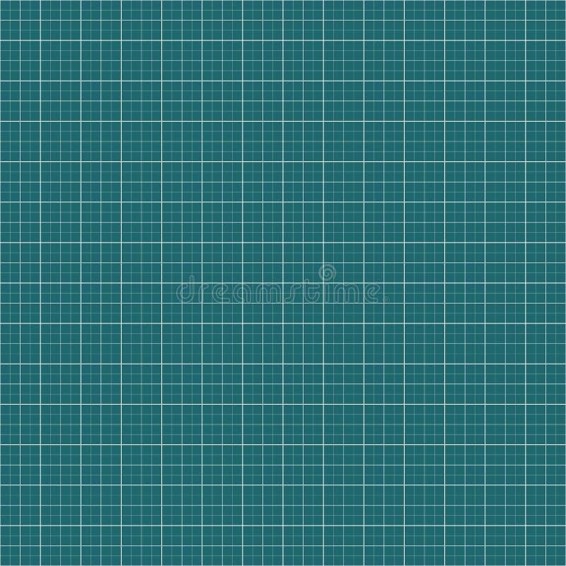 图表,毫米纸背景 空白的栅格,滤网背景 向量例证