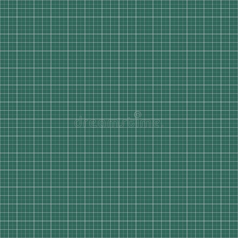 图表,毫米纸背景 空白的栅格,滤网背景 库存例证