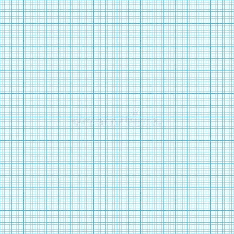 图表,毫米纸 皇族释放例证