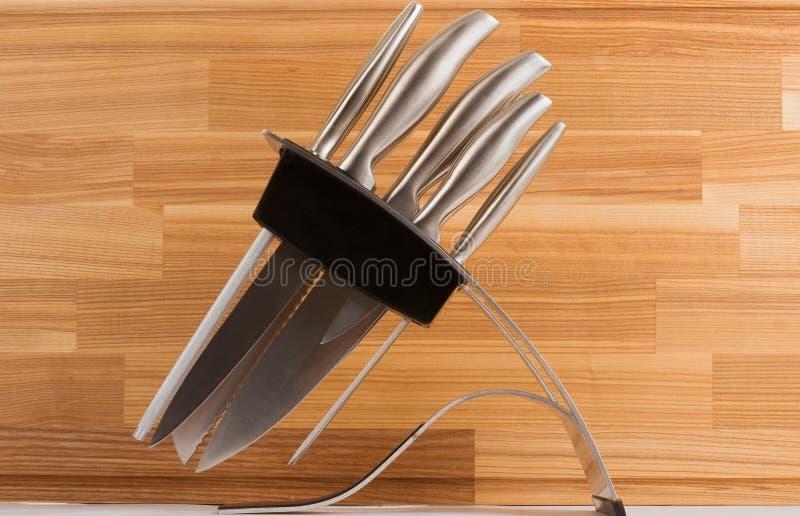 图象厨刀系列集合商品 免版税图库摄影