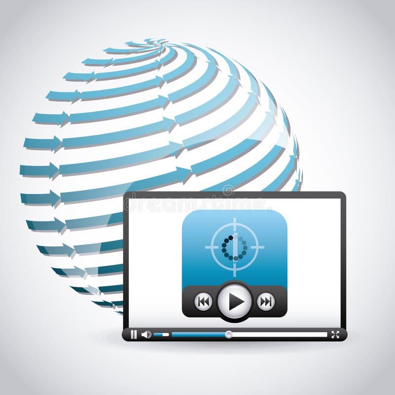 Download 图象播放机 向量例证. 插画 包括有 重新载入, 有效地, 图象, 电影, 记录, 计算机, 夹子, 设备 - 59101216