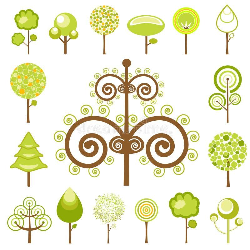 图象结构树向量 皇族释放例证
