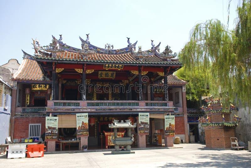 图阿Pek孔寺庙,乔治城,槟榔岛,马来西亚 库存照片