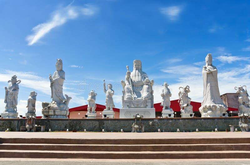 图阿Pek孔寺庙, Sitiawan,马来西亚 图库摄影
