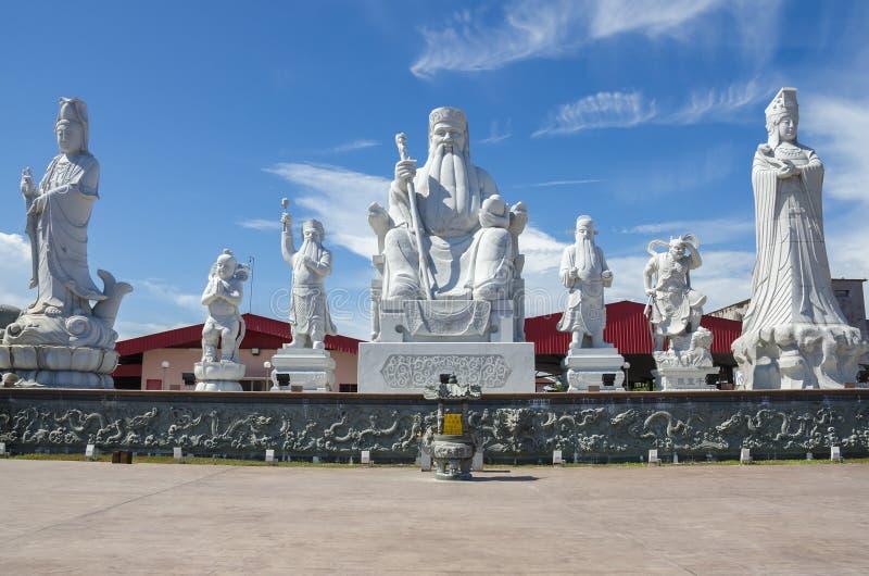 图阿Pek孔寺庙, Sitiawan,马来西亚 免版税库存照片