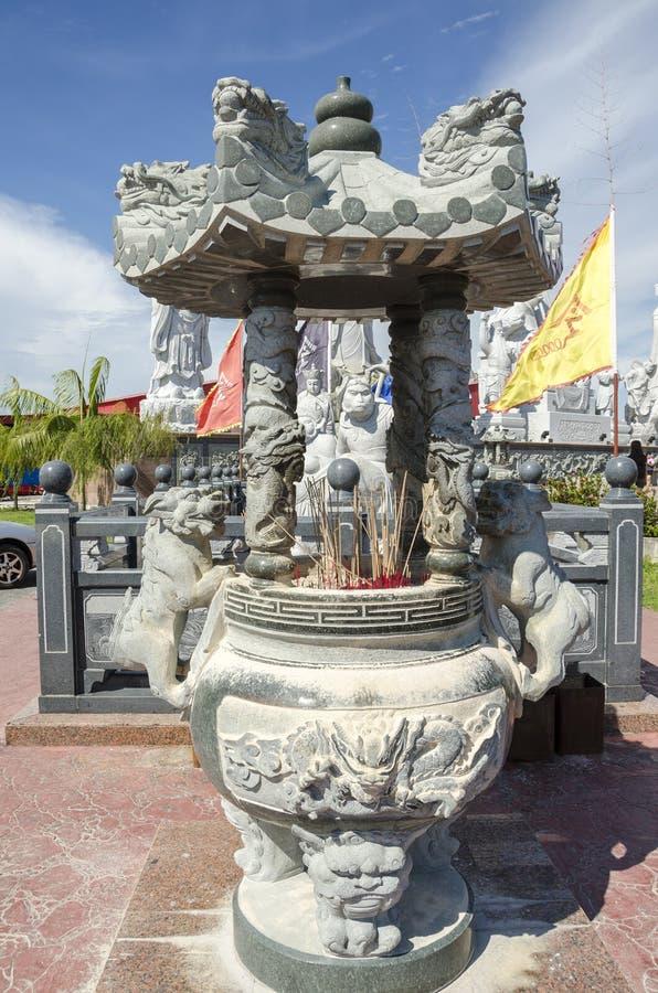 图阿Pek孔寺庙, Sitiawan,马来西亚 库存照片