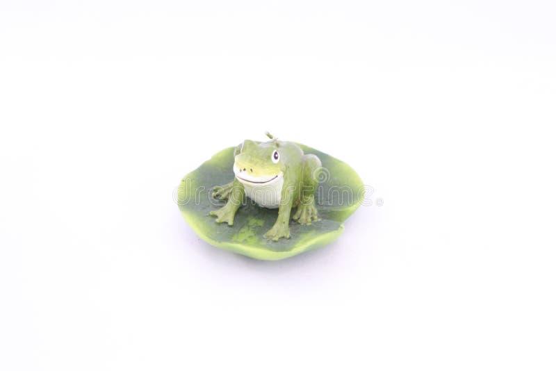 图青蛙蜡烛 库存例证