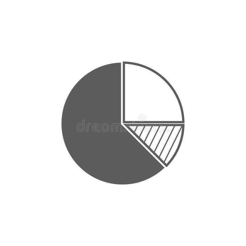 图饼象 财务和企业象的元素 优质质量图形设计象 标志和标志汇集象为 库存例证
