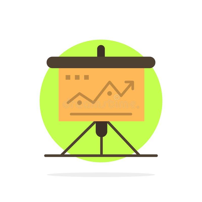 图,事务,挑战,营销,解答,成功,战术提取圈子背景平的颜色象 向量例证