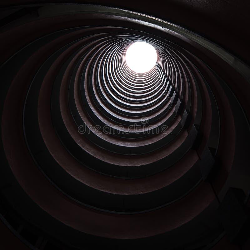 圆大厦在香港 免版税库存照片