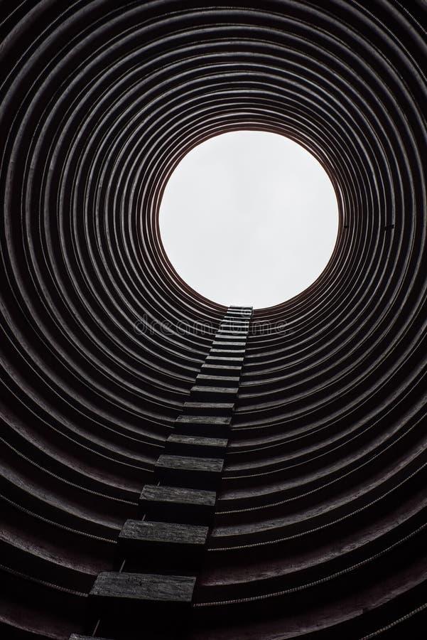 圆大厦在香港 免版税图库摄影