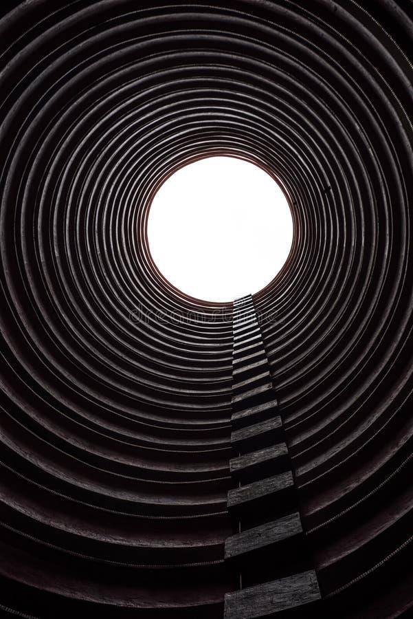 圆大厦在香港 库存照片