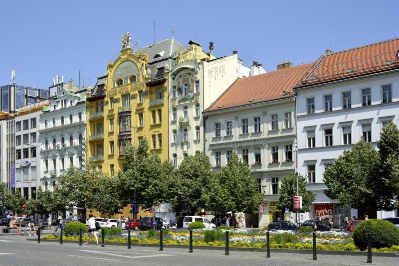 圆山大饭店欧洲在布拉格-捷克 库存照片