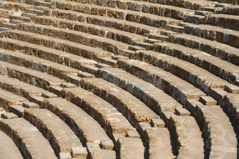 圆形剧场在以弗所 免版税库存图片