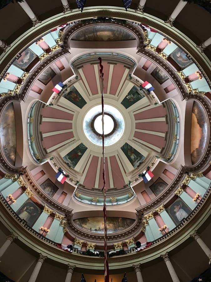 圆形建筑 免版税图库摄影
