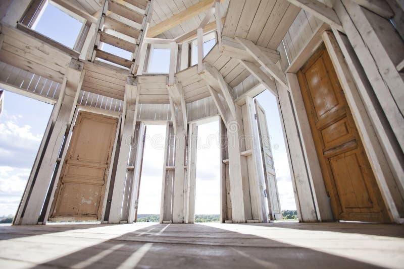 圆形建筑 NICOLA-LENIVETS 社论19 09 2016年 库存图片
