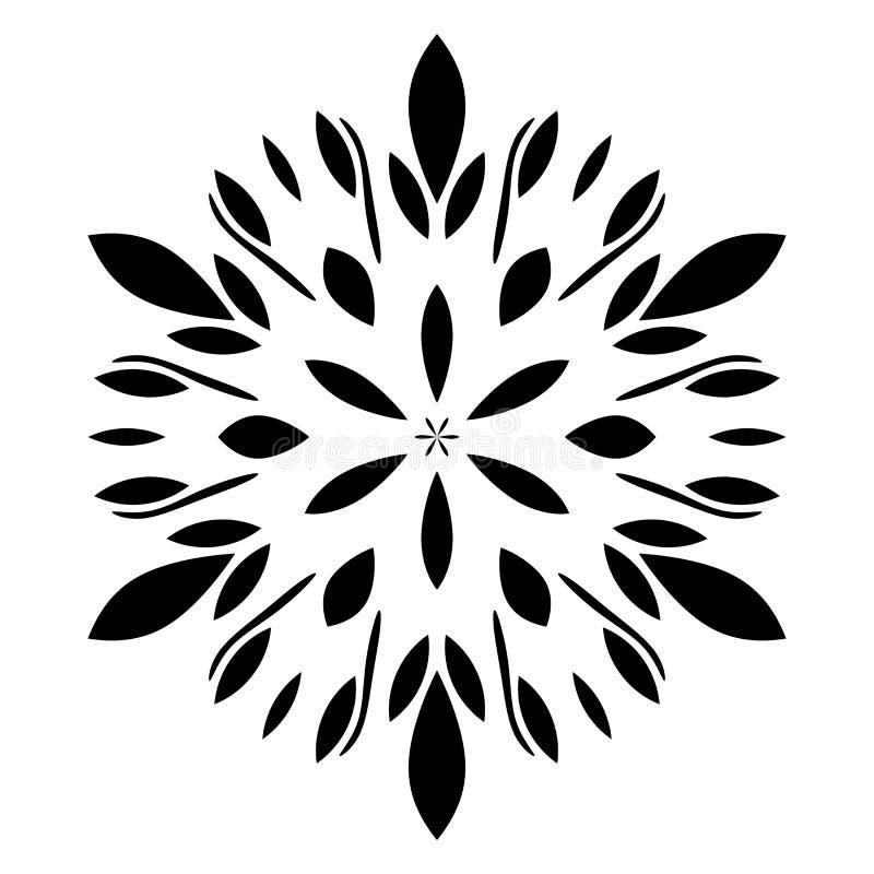 圆样式 几何象 七在白色背景的针对性的星 现代样式 也corel凹道例证向量 简单的标志 坛场 皇族释放例证