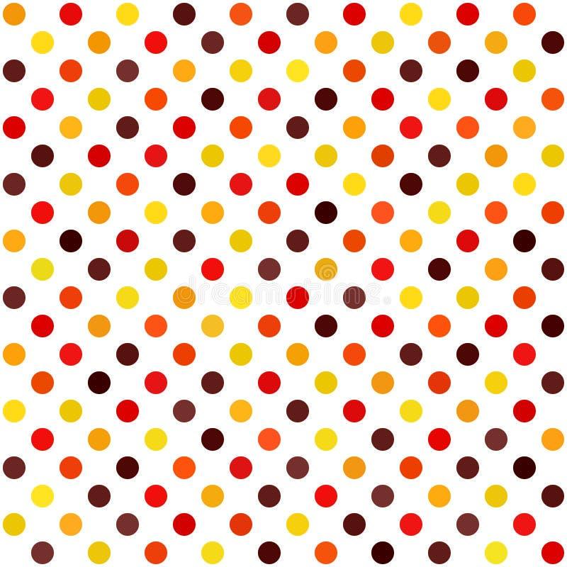 圆点样式 传染媒介无缝的小点背景 向量例证